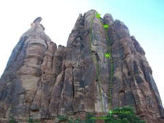 Rock Climbing Photo: Aces & Eights.