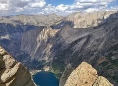 Rock Climbing Photo: Angel Wings and Hamilton Lake.