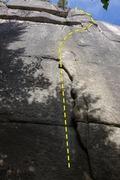 Rock Climbing Photo: The Start of ...Volcano