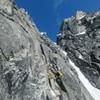 The stellar crack pitch below the summit