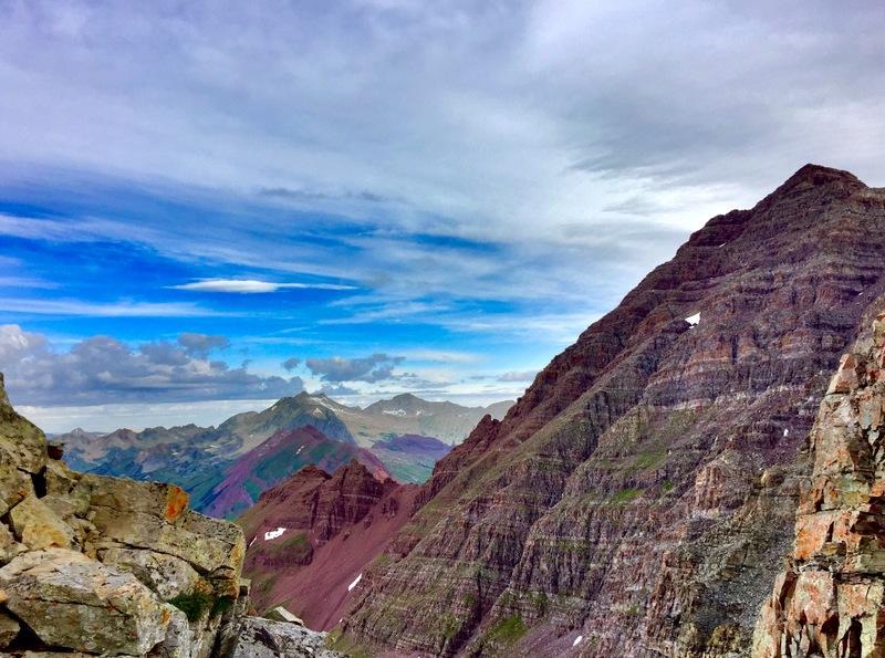 S Maroon ridge