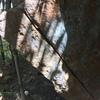 Arete/crack climb. Sandbag V3