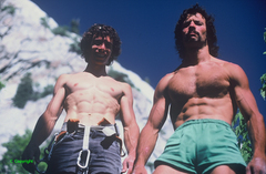Rock Climbing Photo: 1980's bad boys...Steve Carruthers & Merril Bitter...