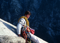 Rock Climbing Photo: Late 1970's...note the old gear!