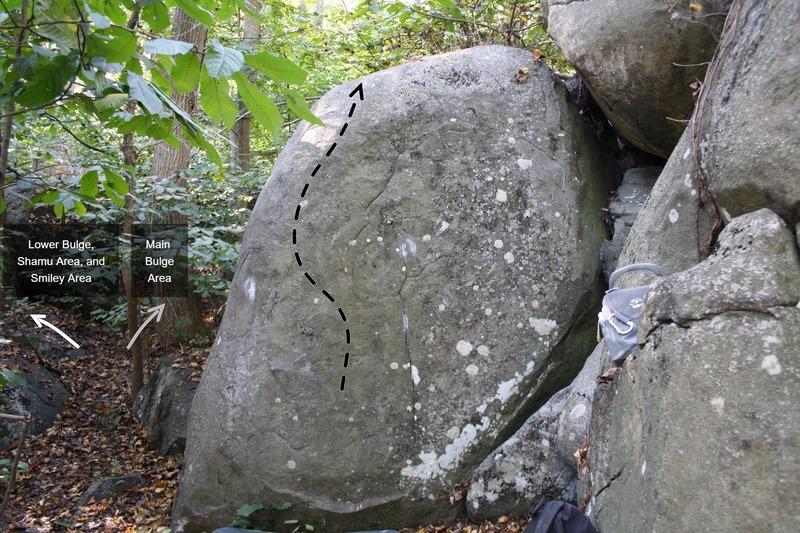 Slice (left half of boulder)
