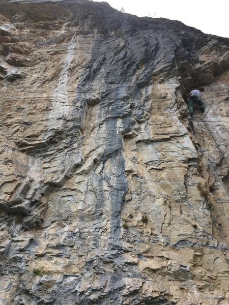 Nice rock at Sonar Wall!