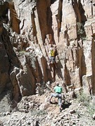 Rock Climbing Photo: All That Glitters FA
