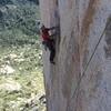 fun face climbing with an inyourface crux