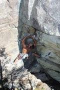 Rock Climbing Photo: Michal on P8. Photo Ryan Hoover