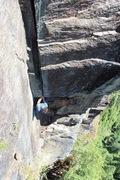 Rock Climbing Photo: Jack on P8. Photo Ryan Hoover