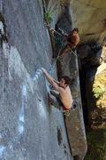 Rock Climbing Photo: Ryan on p4. Photo Jack Taylor