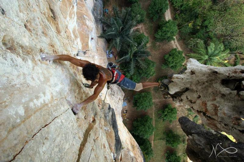 bring an 80meter rope for this 7b+ !