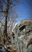 Rock Climbing Photo: Tyler posted for the send of Underking