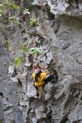 Rock Climbing Photo: Master Christian Ehlert dando catedra en paseo esc...