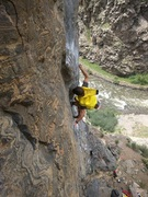 Rock Climbing Photo: I sometimes wear a banana suit when I climb