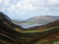 Rock Climbing Photo: Bannerdale Valley from Buttermere