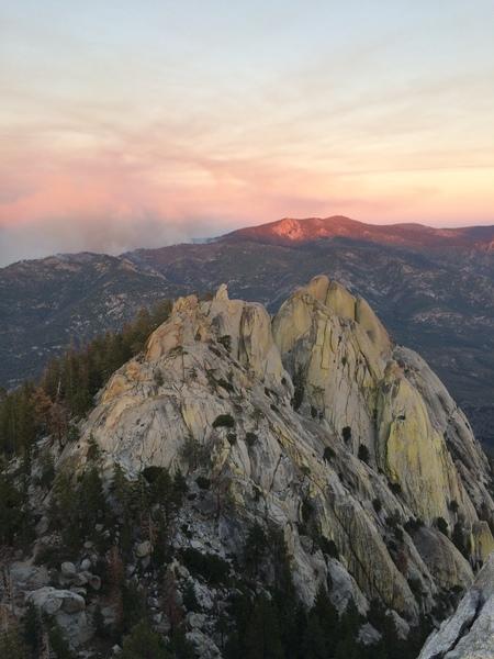 the needles, sequoia national park