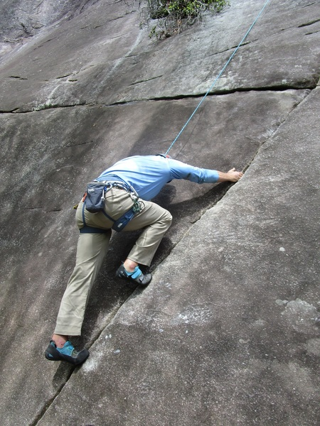 Looking Glass crack climb (duh)