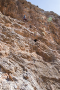 Free Style line - this one goes just left of the large hueco in center of the photo