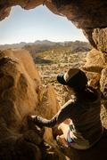 Rock Climbing Photo: Kerry takes it the beauty of the Park in from The ...