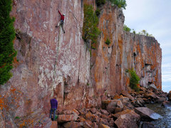 Rock Climbing Photo: Henning Boldt on Ecclesiastes. Late September, 201...