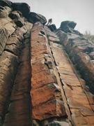 Black Cliffs climbin'