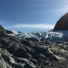 Burns Glacier - mellow trek all the way on this glacier. Easy travel.