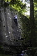 not sure what this climb is.. maybe 5.7/v1ish.