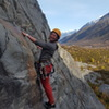 Kira and Eileen enjoying Indian summer day to wrap up the climbing season in Valdez