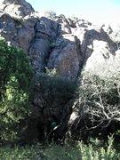 Rock Climbing Photo: I Must Not Tell Lies FA