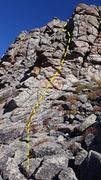 The 1st buttress. A fun, little, 5.2 crux at the top.