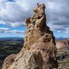 Top of Brogan Spire.<br> <br> Photo by: Jonathon Severdia