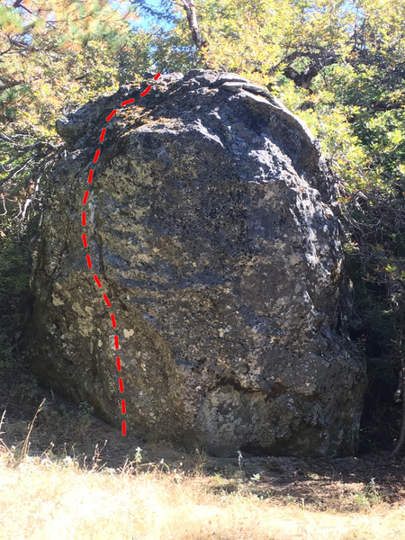 Avenger Route, Old Oak Boulder