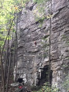 Chattanooga climber on Java man