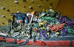 Rock Climbing Photo: Tools of the trade