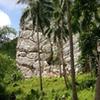 Crag at Poog, near Cantabaco