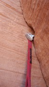 Rock Climbing Photo: Another shot of the infamous tricam placement. Des...