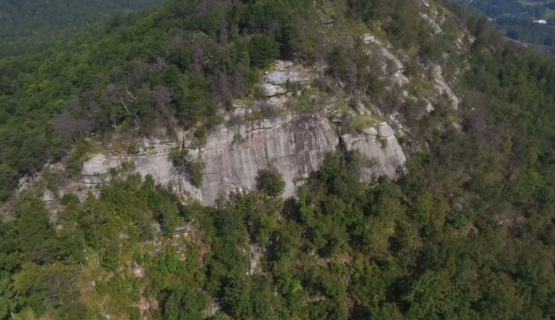 Main face on Currahee