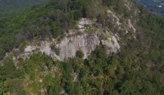 Main face on Currahee <br /> <br />Credit: Southern Aerial Media