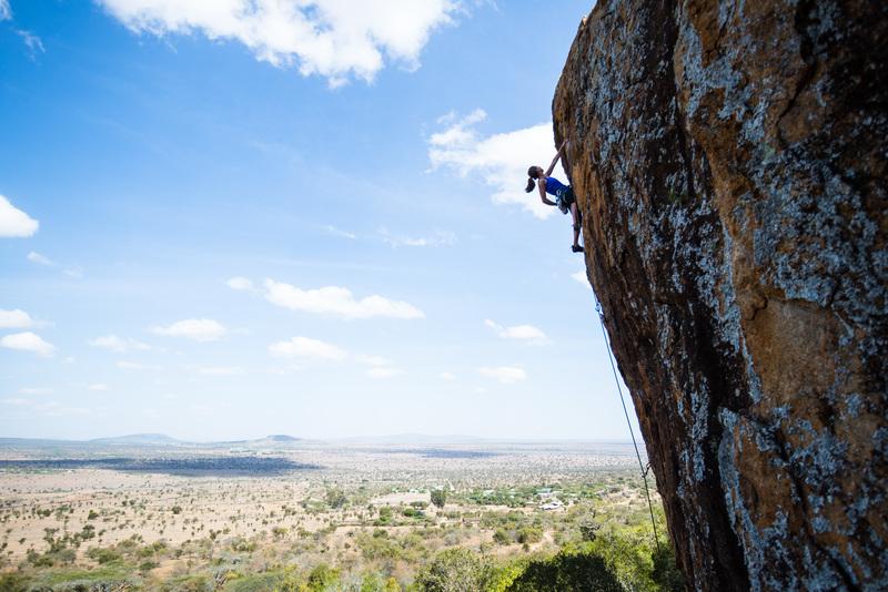 Lukenya 5.11+ climbing