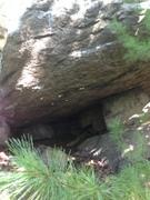 Rock Climbing Photo: V4.