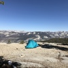 Campsite on Mount Clark, southern Yosemite.
