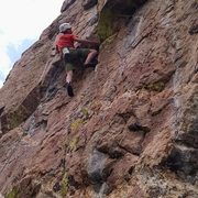 Sage at the crux.