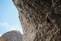 Rock Climbing Photo: A slightly different take on the first nice rest. ...