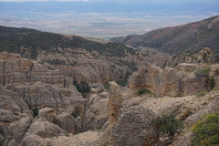 Rock Climbing Photo: View from the lookout at the top of Right Fork tra...