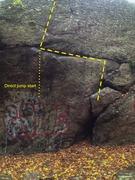 Rock Climbing Photo: The Snort.