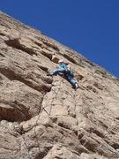 Rock Climbing Photo: KJ on Honeycomb Arete