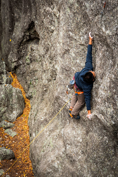Kaz on Static Cling.  Great movement on this route.