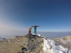 Mt Adams, WA summit