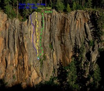 Topo of West End Wall